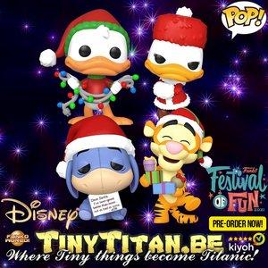 FUNKO POP! Disney Bundle of 4 - Holiday Pre-Order