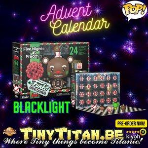 Funko Pocket POP! Five Nights at Freddy's Blacklight Advent Calendar 2021 Pre-order