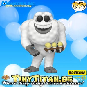 Funko POP Yeti w/ Ice Cream - Disney/Pixar Monsters Inc. 20 Years  Pre-order