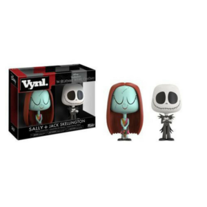 Vynl. Sally + Jack Skellington Nightmare before Christmas