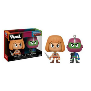 Vynl. He-Man + Trap Jaw Masters of the Universe