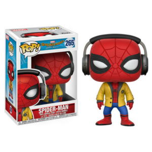 Marvel Spider-Man With jacker and Headphones #265 Spider-Man Homecoming