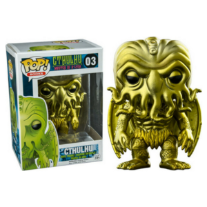 Books Cthulhu - Gold Metallic #03