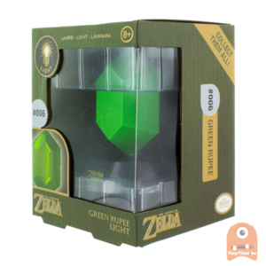 Paladone GREEN RUPEE 3D LIGHT - Zelda