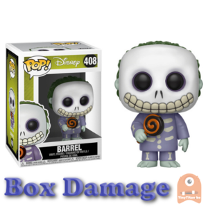 POP! Disney Barrel #408 Nightmare before Christmas -DMG