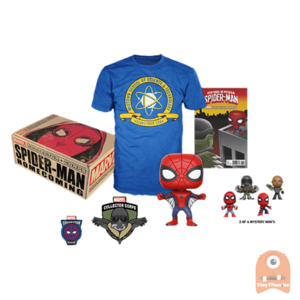POP! Marvel Collector Corps Box Spider-Man Homecoming (Medium)