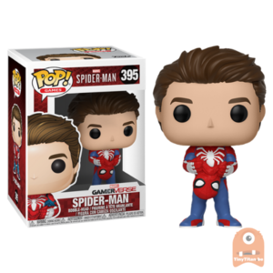 POP! Games Spider-man Unmasked #395 Spider-man
