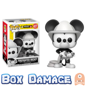 POP! Disney Firefighter Mickey #427 MM 90th Anniversary DMG