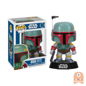 POP! Star Wars Boba Fett #08 Black Box