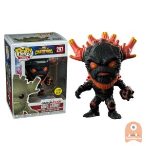 POP! Games King Groot GITD #297 Contest of Champions