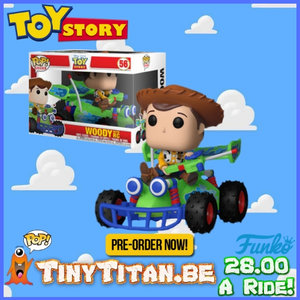 Funko POP! Woody & RC - Toy Story PRE-ORDER