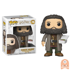 "POP! Harry Potter Rubeus Hagrid with Cake 6"" #78"