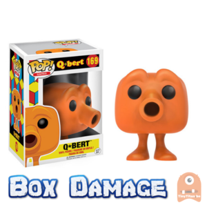 POP! Games Q-Bert #169 Q-Bert DMG
