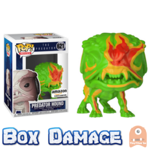 POP! Movies Predator Hound Neon #621 The Predator - DMG