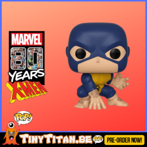 Funko POP! Beast First Appearance - Marvel 80th PRE-ORDER